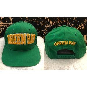 Super Vintage Green Bay Packers NFL SnapBack Hat